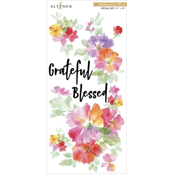 Altenew WATERCOLOR BLISS Decal Set ALT3521