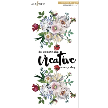 Altenew TEXTURED BOUQUET LARGE Decal Set ALT3519