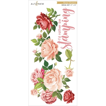 Altenew ROSE CLUSTER Decal Set ALT3517