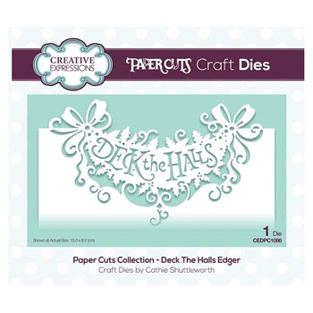 Creative Expressions DECK THE HALLS Paper Cuts Collection Dies cedpc1086