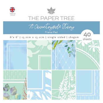 The Paper Tree A COUNTRYSIDE STORY 6x6 Frames Paper Pad ptc1087
