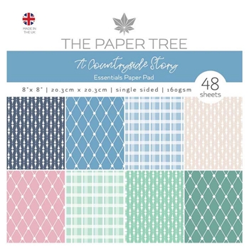 The Paper Tree A COUNTRYSIDE STORY 8x8 Essentials Pad ptc1041