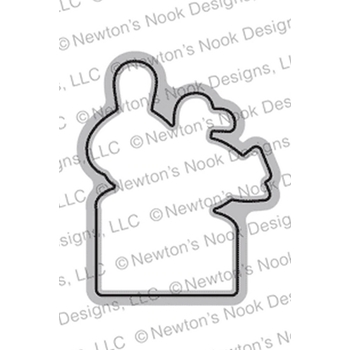 Newton's Nook Designs GULL FRIEND Die NN1907D07