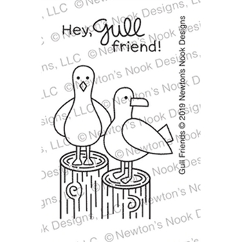 Newton's Nook Designs GULL FRIEND Clear Stamps NN1907S07