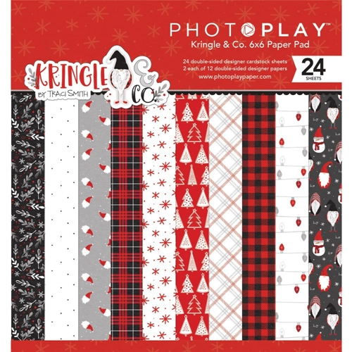 Photoplay Kringle and Co 6x6 Paper Pack