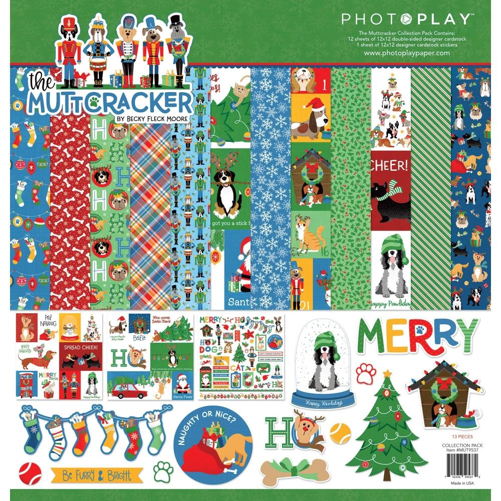 PhotoPlay MUTTCRACKER 12 x 12 Collection Pack mut9537 zoom image