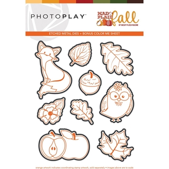 PhotoPlay MAD 4 PLAID FALL Die Set mpf9553