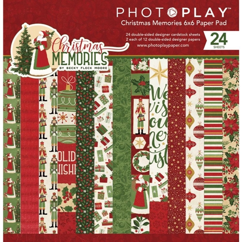 PhotoPlay CHRISTMAS MEMORIES 6 x 6 Paper Pad cmr9557 Preview Image