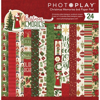 PhotoPlay CHRISTMAS MEMORIES 6 x 6 Paper Pad cmr9557
