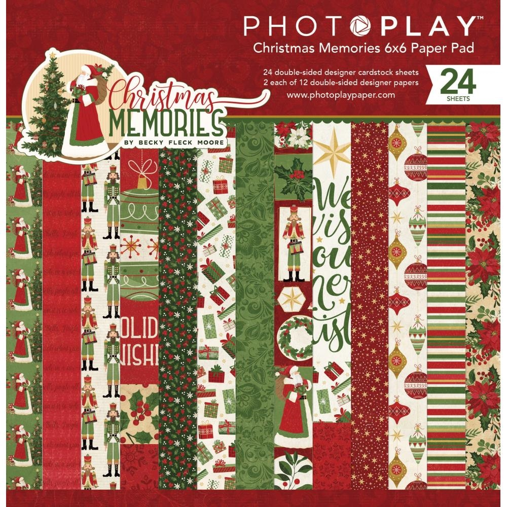 PhotoPlay CHRISTMAS MEMORIES 6 x 6 Paper Pad cmr9557 zoom image