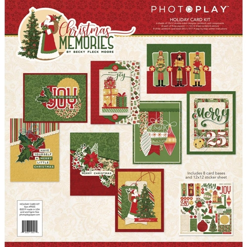 PhotoPlay CHRISTMAS MEMORIES Card Kit cmr9555 Preview Image