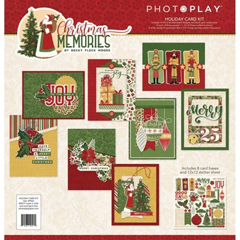 PhotoPlay CHRISTMAS MEMORIES Card Kit cmr9555