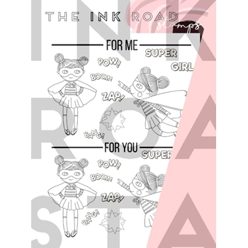 The Ink Road DUET ZAP Clear Stamp Set inkr087