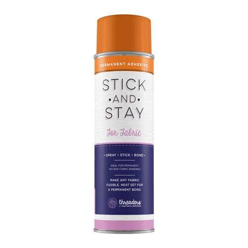 Crafter's Companion STICK AND STAY ADHESIVE FOR FABRIC Threaders stk-sty-fab Preview Image