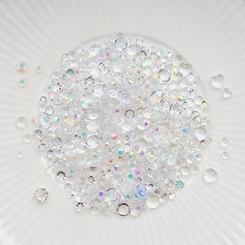 Little Things From Lucy's Cards Crystal Collection GLASS Sparkly Shaker Mix LB262