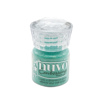 Tonic TURQUOISE LAGOON Nuvo Embossing Powder 616n