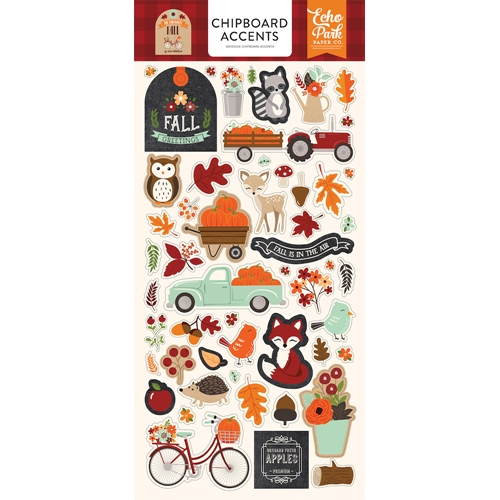 Echo Park MY FAVORITE FALL Chipboard Accents mff187021 Preview Image
