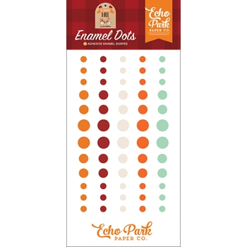 Echo Park MY FAVORITE FALL Enamel Dots mff187028