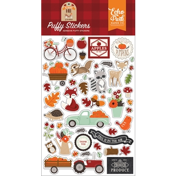 Echo Park MY FAVORITE FALL Puffy Stickers mff187066