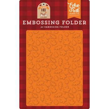 Echo Park FALL IS IN THE AIR Embossing Folder mff187031