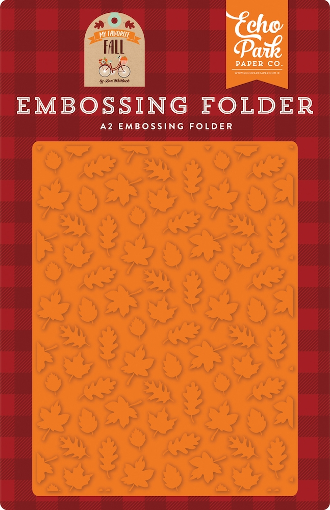 Echo Park FALL IS IN THE AIR Embossing Folder mff187031 zoom image