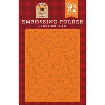 Echo Park PUMPKIN PATCH Embossing Folder mff187032