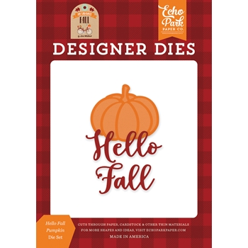 Echo Park HELLO FALL PUMPKIN Die Set mff187040