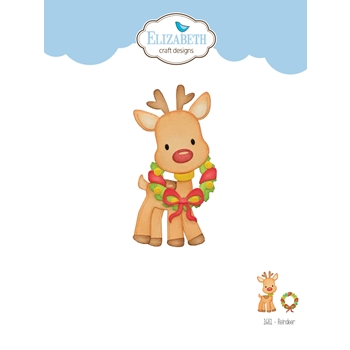Elizabeth Craft Designs REINDEER Craft Dies 1681