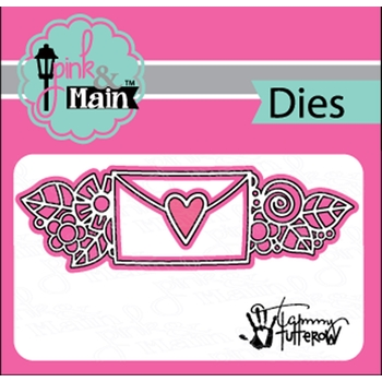 Pink and Main FLORAL MAIL Dies PNM230