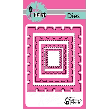 Pink and Main POSTAGE Dies PNM231