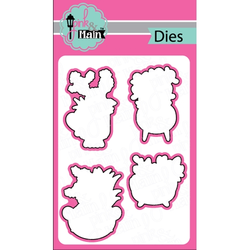 Pink and Main SUCCULENT Dies PNM227 Preview Image