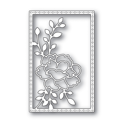 Simon Says Stamp CARNATION FRAME Wafer Die s667 Believe In You Preview Image