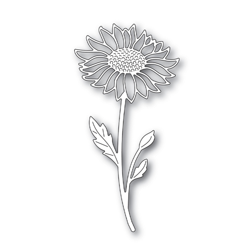 Simon Says Stamp SUNFLOWER STEM Wafer Die s665 Believe In You Preview Image