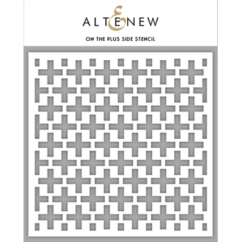 Altenew ON THE PLUS SIDE Stencil ALT3455