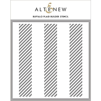 Altenew BUFFALO PLAID BUILDER Stencil ALT3453