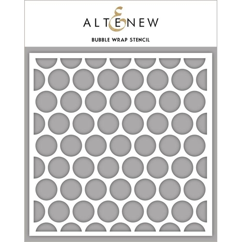 Altenew BUBBLE WRAP Stencil ALT3452 Preview Image