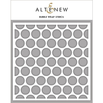 Altenew BUBBLE WRAP Stencil ALT3452