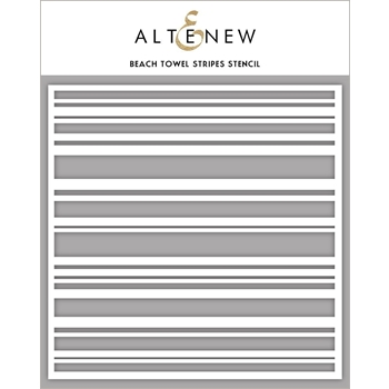 Altenew BEACH TOWEL STRIPES Stencil ALT3451