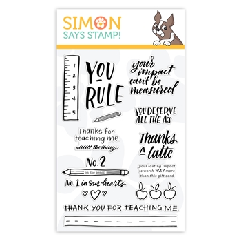 Simon Says Clear Stamps SCHOOL DAYS sss102018L Believe In You *
