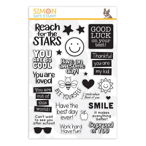 Simon Says Clear Stamps LUNCH BOX NOTES 2 sss202010 Believe In You Preview Image