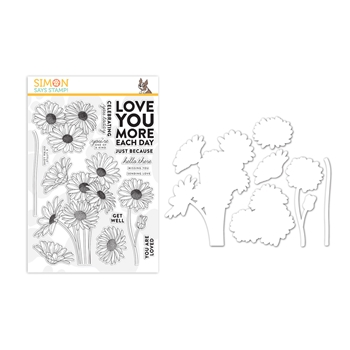 Simon Says Stamps And Dies DAISY BOUQUET set347db Believe In You