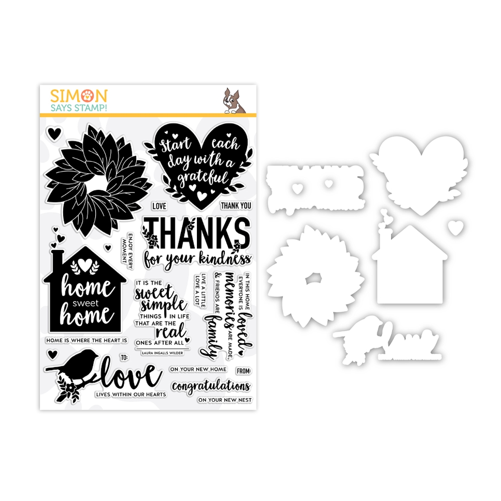 Simon Says Stamps And Dies HOME SWEET HOME set351hsh Believe In You * zoom image