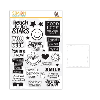 Simon Says Stamps And Dies LUNCH BOX NOTES set354lbn Believe In You