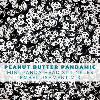 Trinity Stamps PEANUT BUTTER PANDAMIC Embellishment Box 102363
