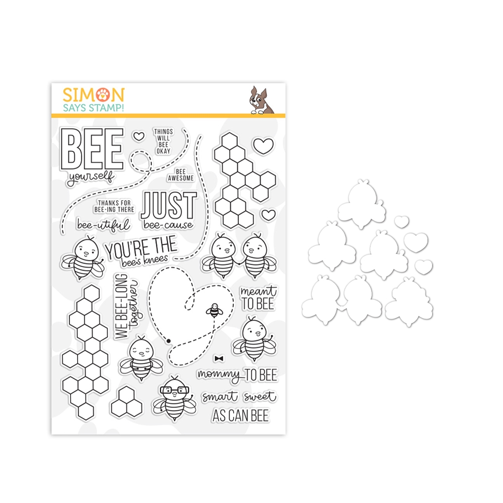 Simon Says Stamps And Dies BEE YOURSELF set357by Believe In You zoom image