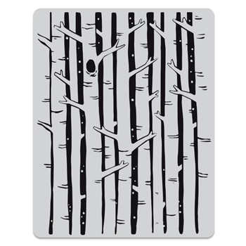 Hero Arts Cling Stamps BIRCH FOREST BACKGROUND CG781