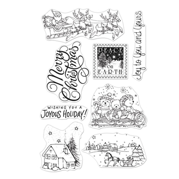 Hero Arts Clear Stamps FROM THE VAULT WINTER JOY CM386