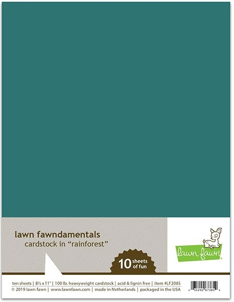 Lawn Fawn RAINFOREST Cardstock LF2085 zoom image