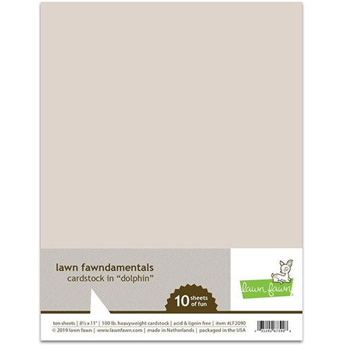 Lawn Fawn DOLPHIN Cardstock LF2090 Preview Image