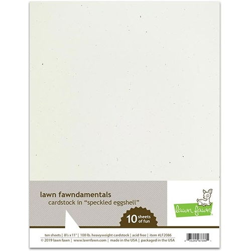 Lawn Fawn SPECKLED EGGSHELL Cardstock LF2086 Preview Image